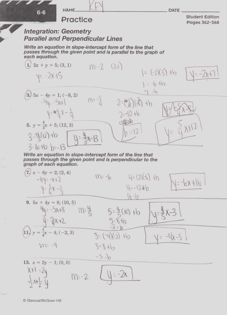 27 Writing Linear Equations Worksheet Answers   Worksheet
