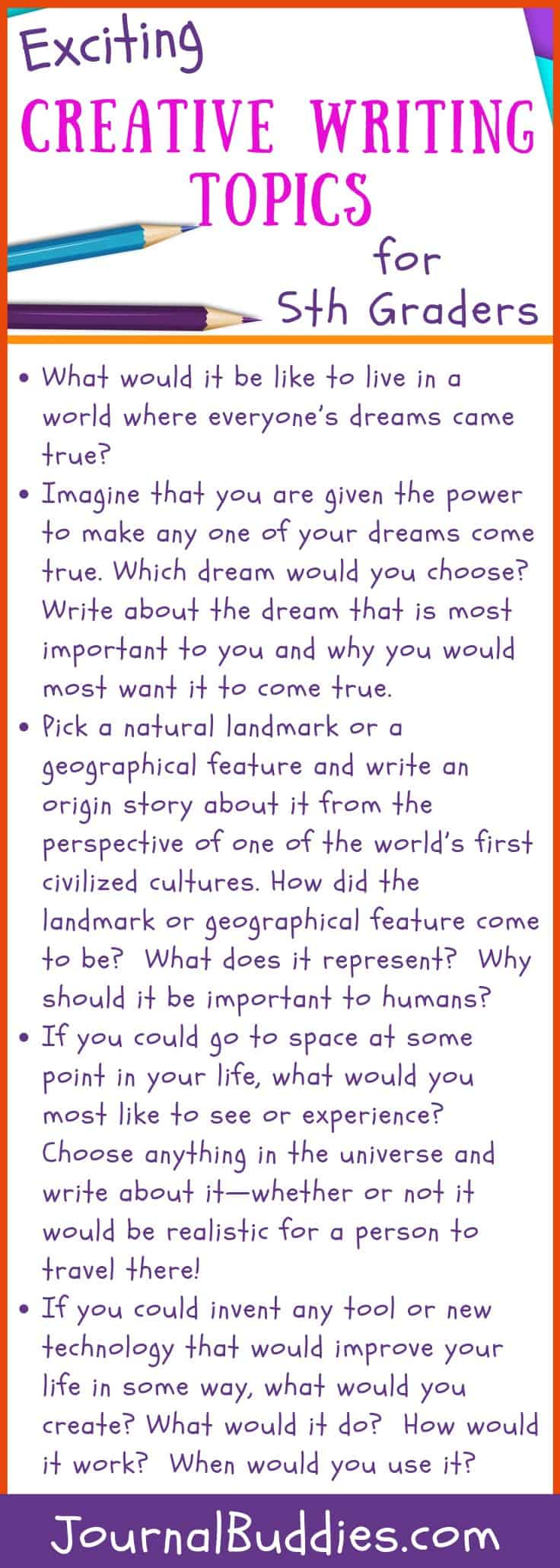 Creative Writing Worksheets For Grade 5