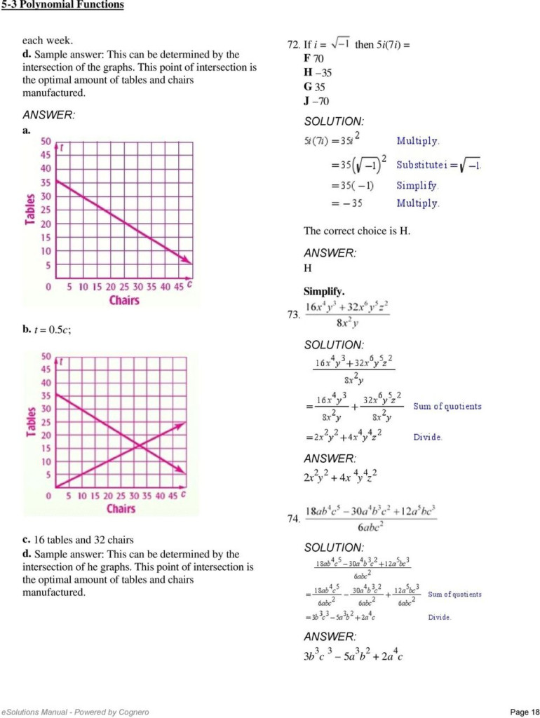 5 3 Polynomial Functions. Not In One Variable Because There