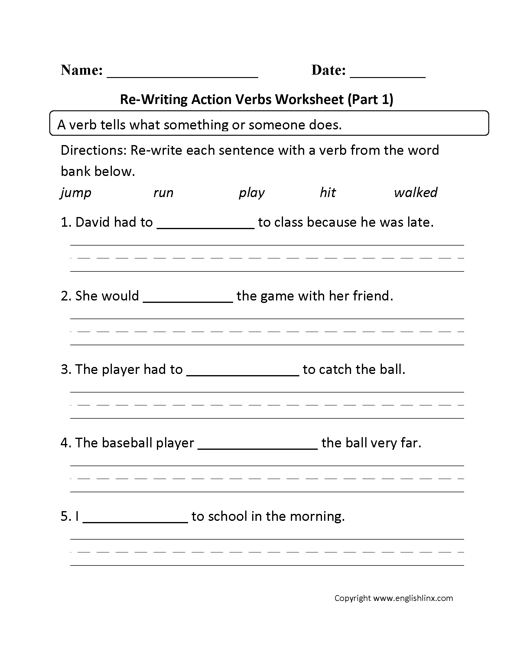 50 Awesome Writing Worksheets For Grade 1 Picture Ideas
