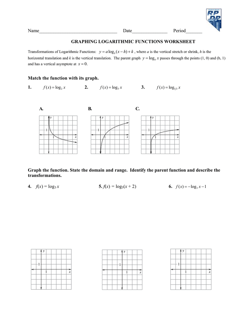 Algebra 1 - Linear Equations Worksheets   Graphing Lines In