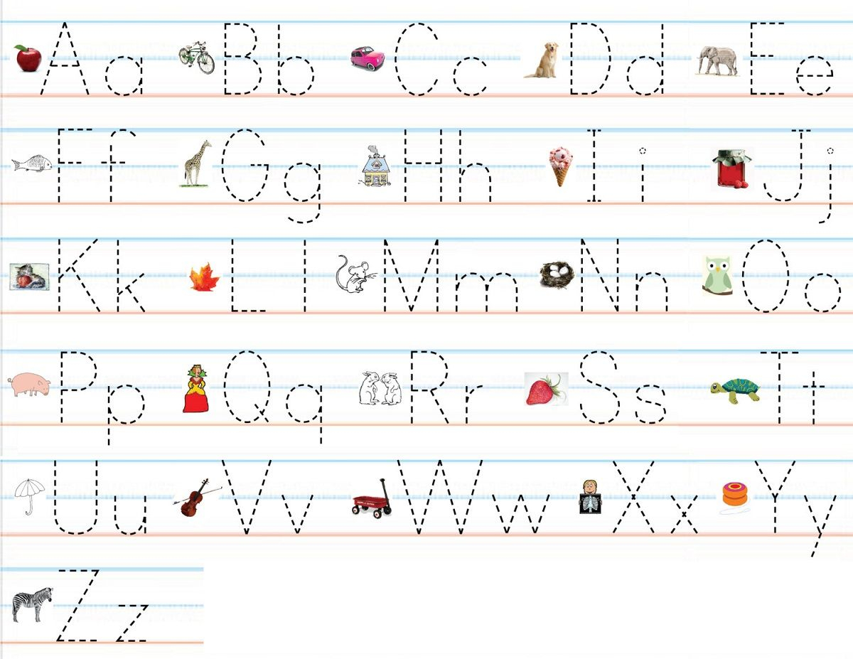 Practice Writing Letters And Numbers Worksheets