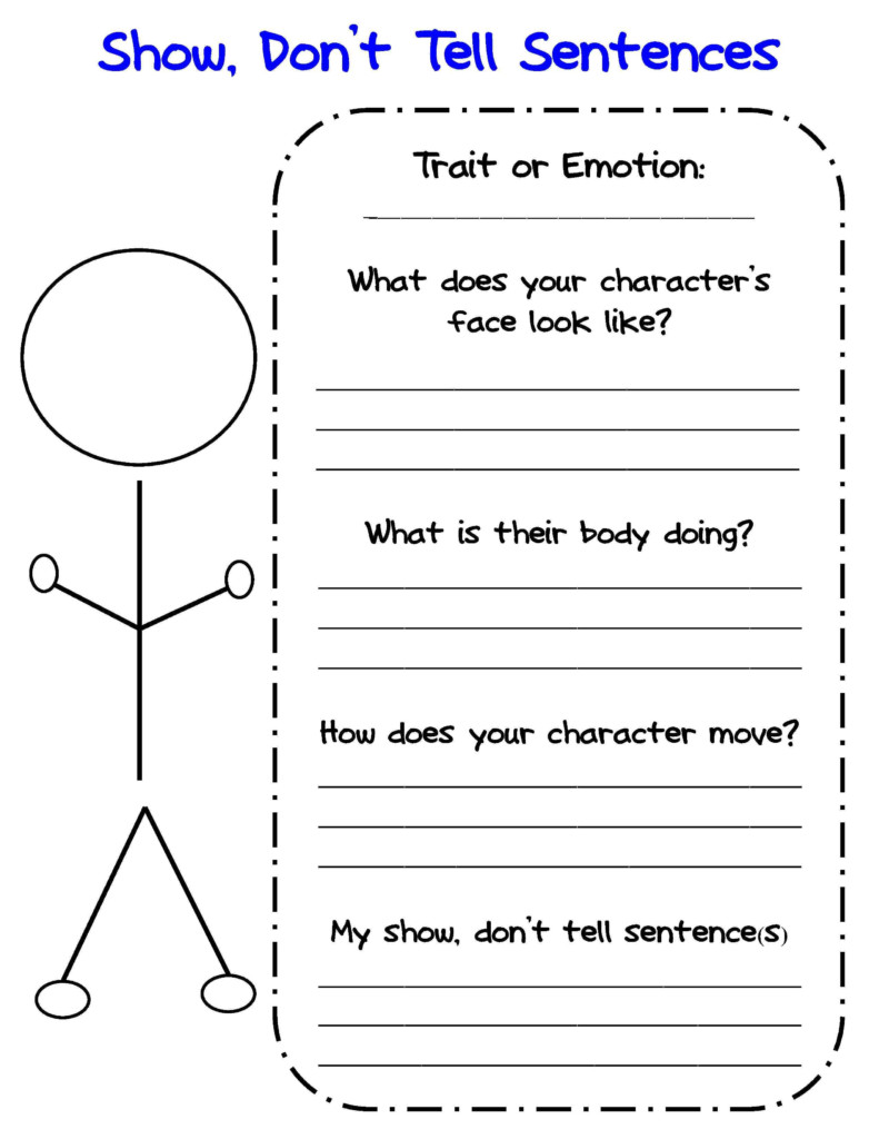 Bringing Characters To Life In Writer's Workshop