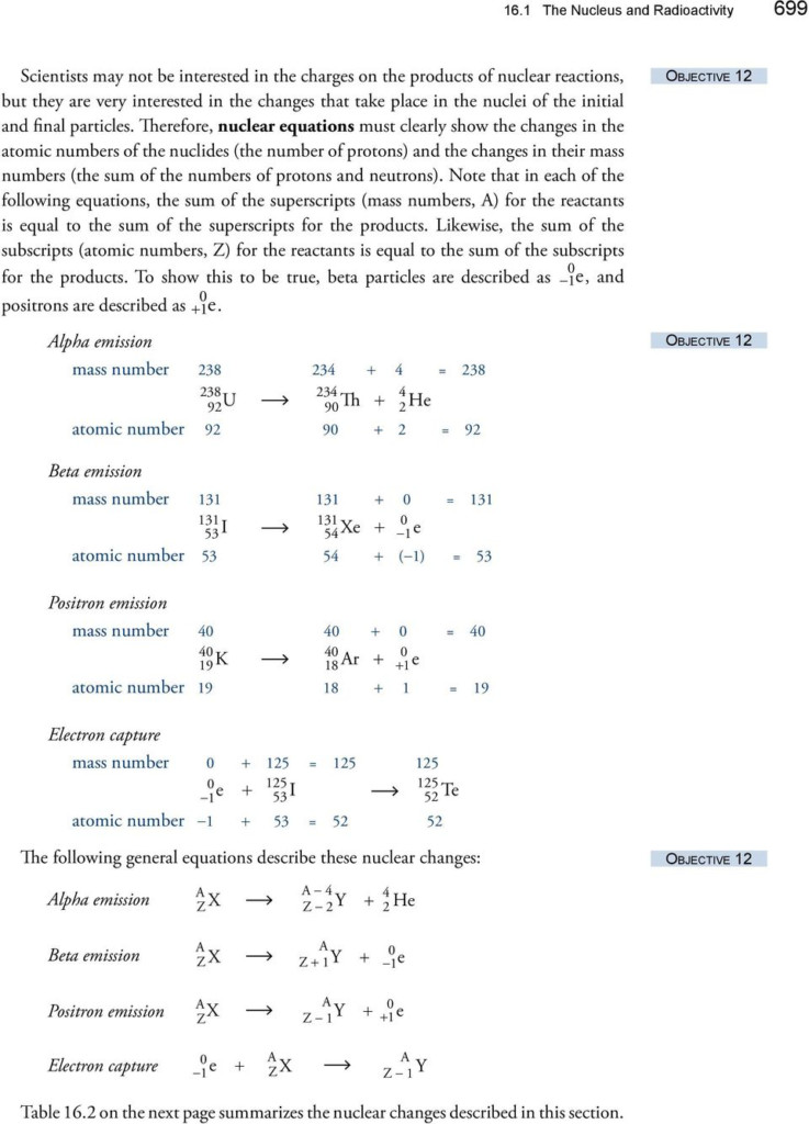 Chapter The Nucleus And Radioactivity Uses Of Radioactive