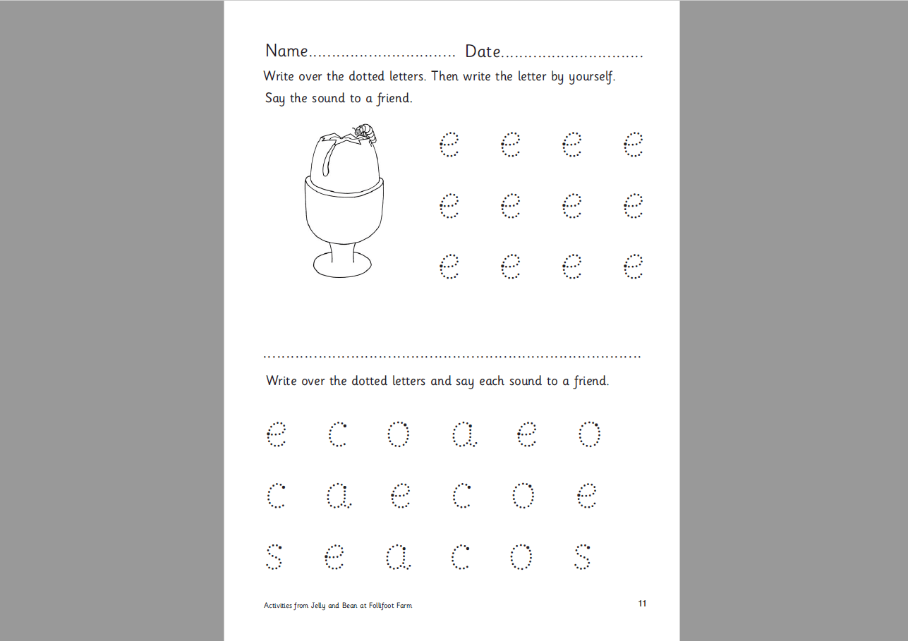 First Words Writing 1 Worksheet – Handwriting And