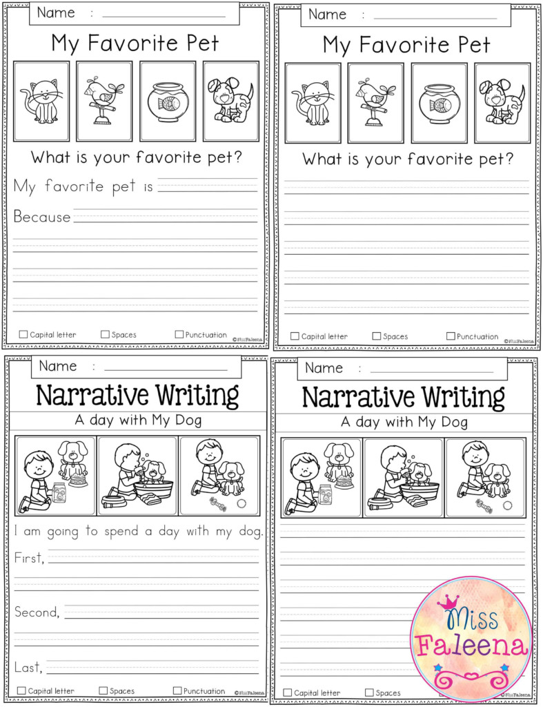Free Writing Prompts   Back To School   Writing Prompts 2Nd