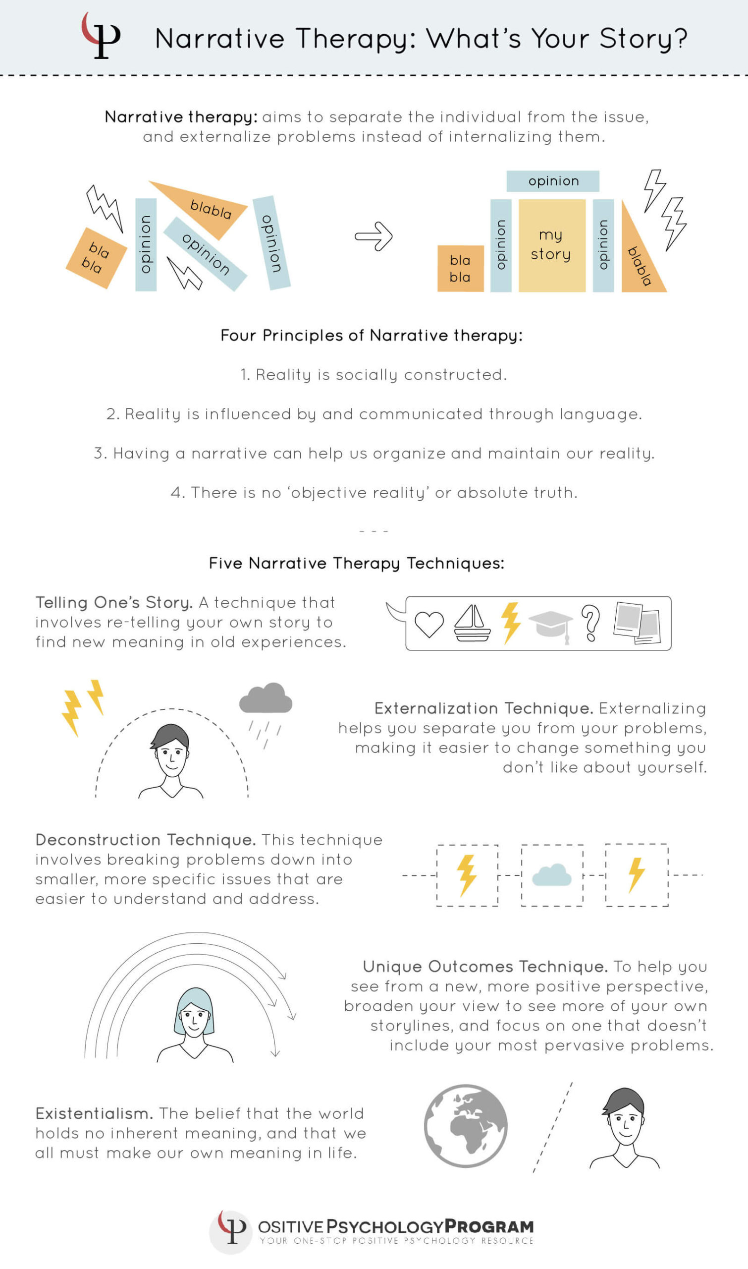 Narrative Therapy Techniques Interventions Worksheets Pdf