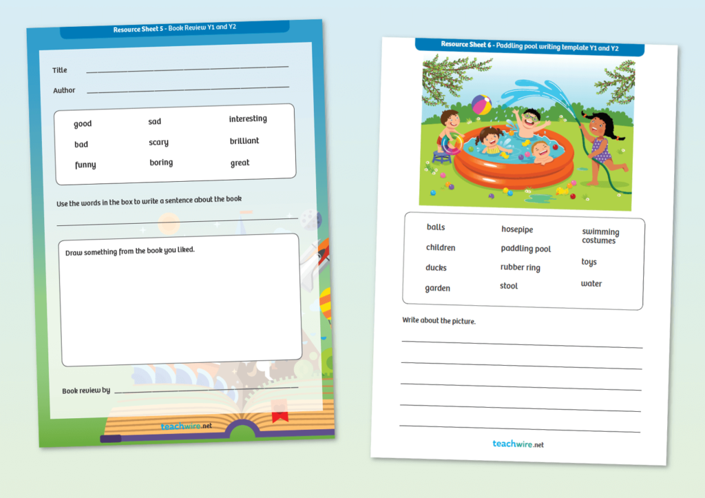 Non Fiction Writing Templates – 8 Of The Best Worksheets For