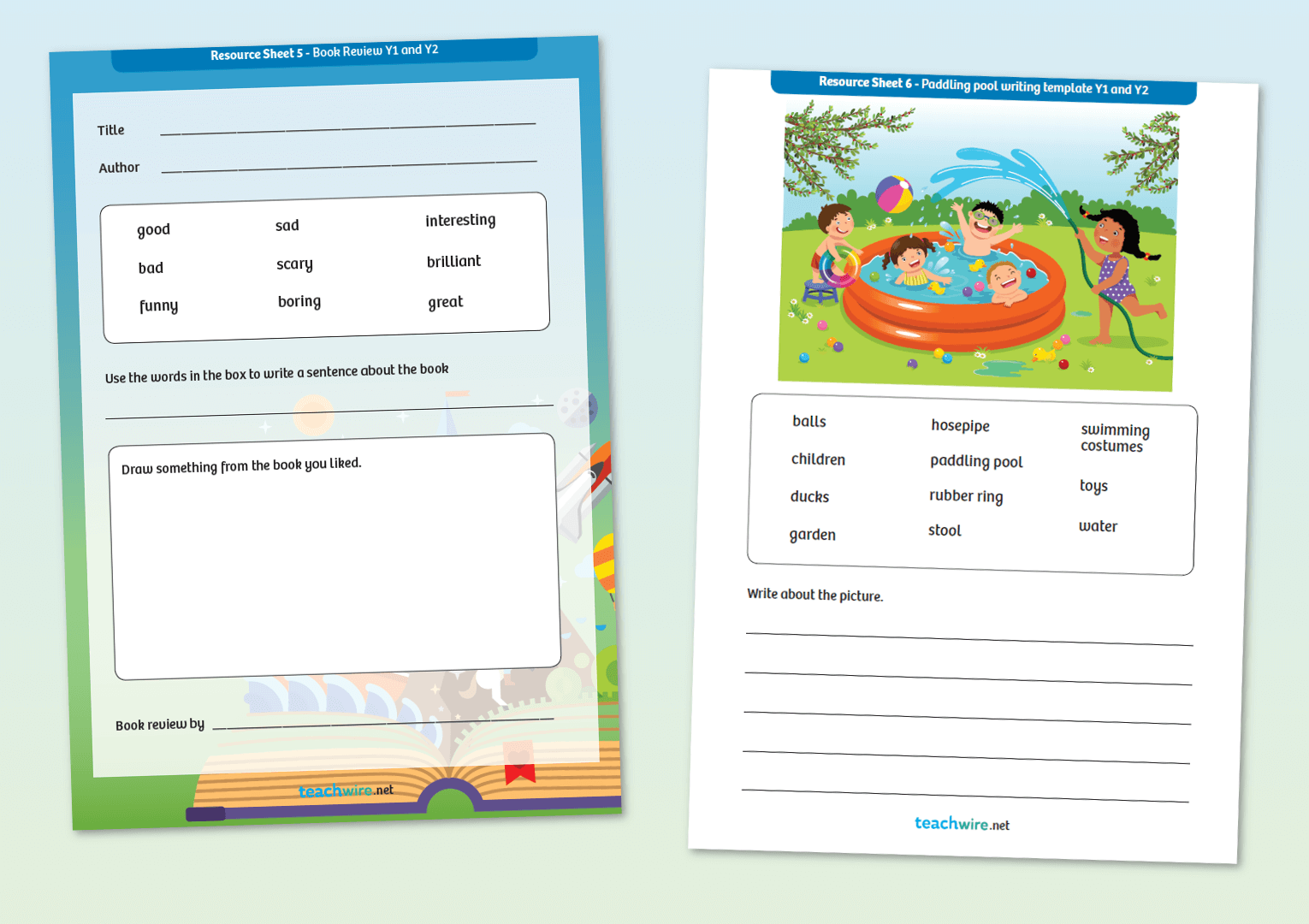 Non-Fiction Writing Templates – 8 Of The Best Worksheets For