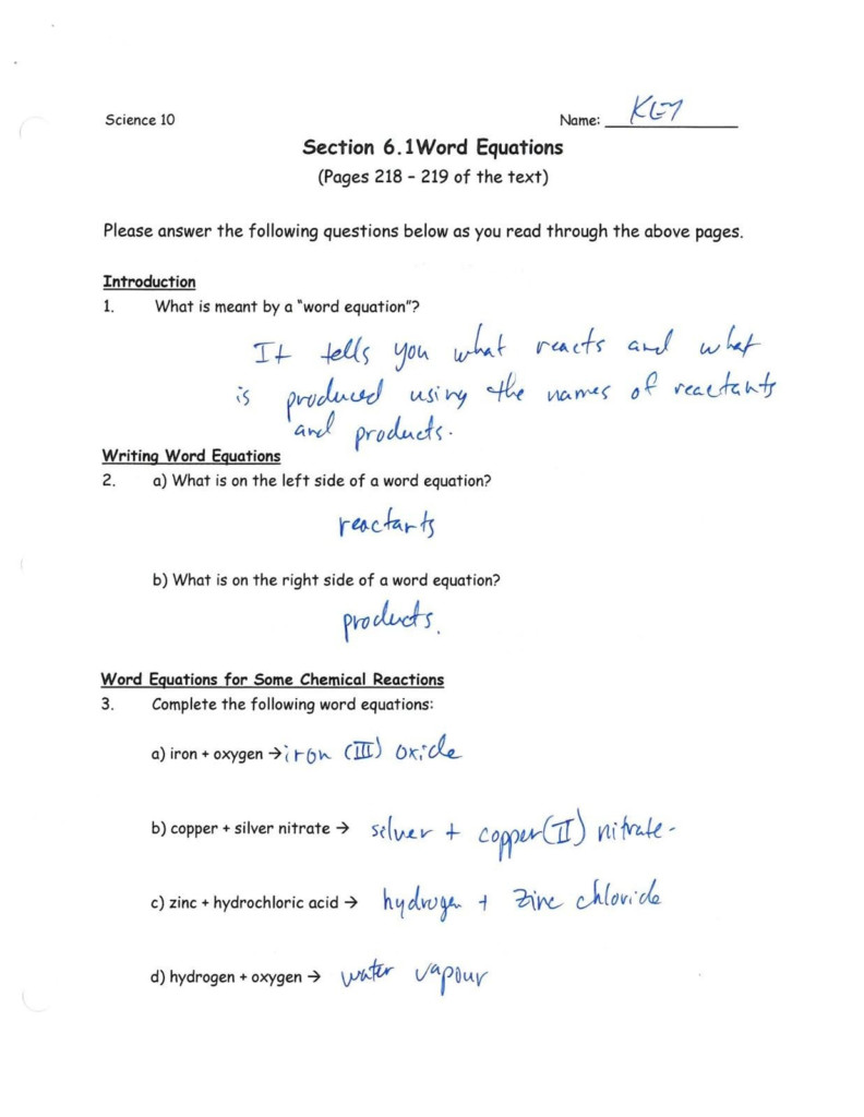 Nuclear Equations Worksheet | Printable Worksheets And