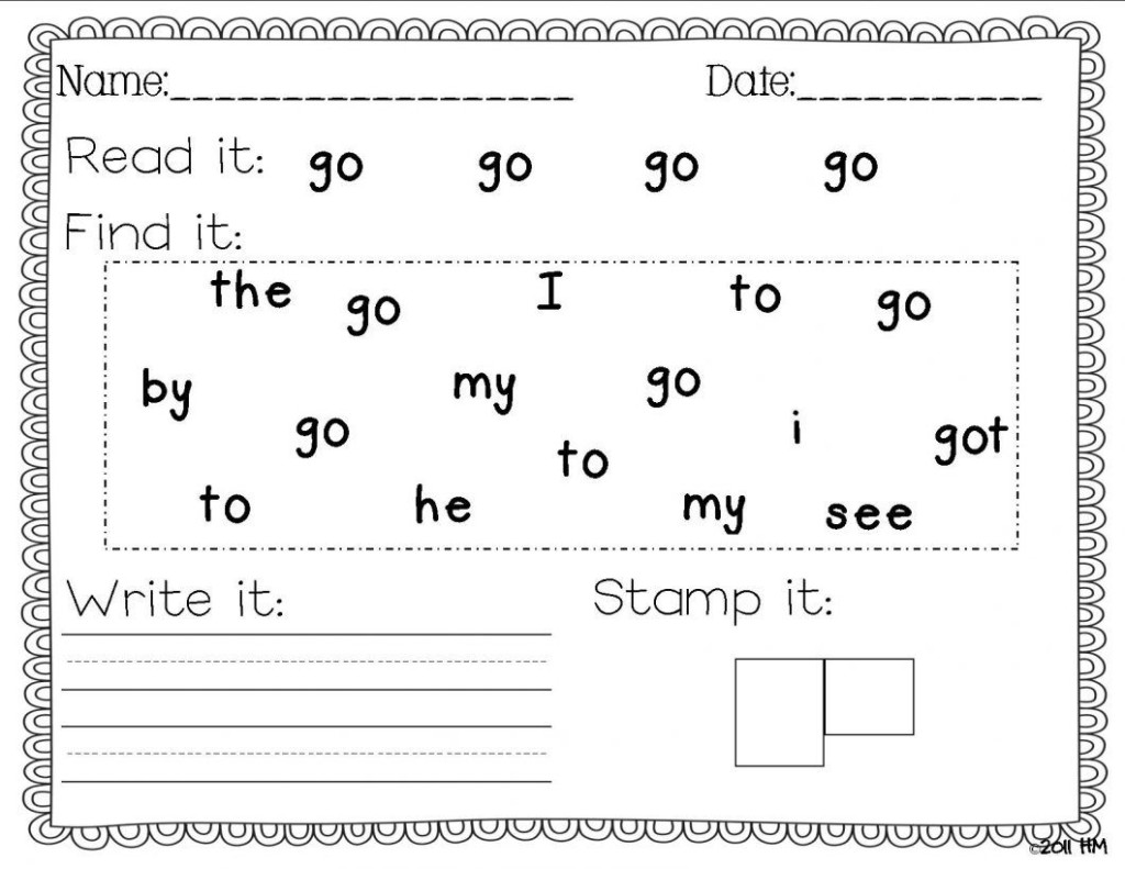 Preschool Writing Activities Printables – With Also Pre