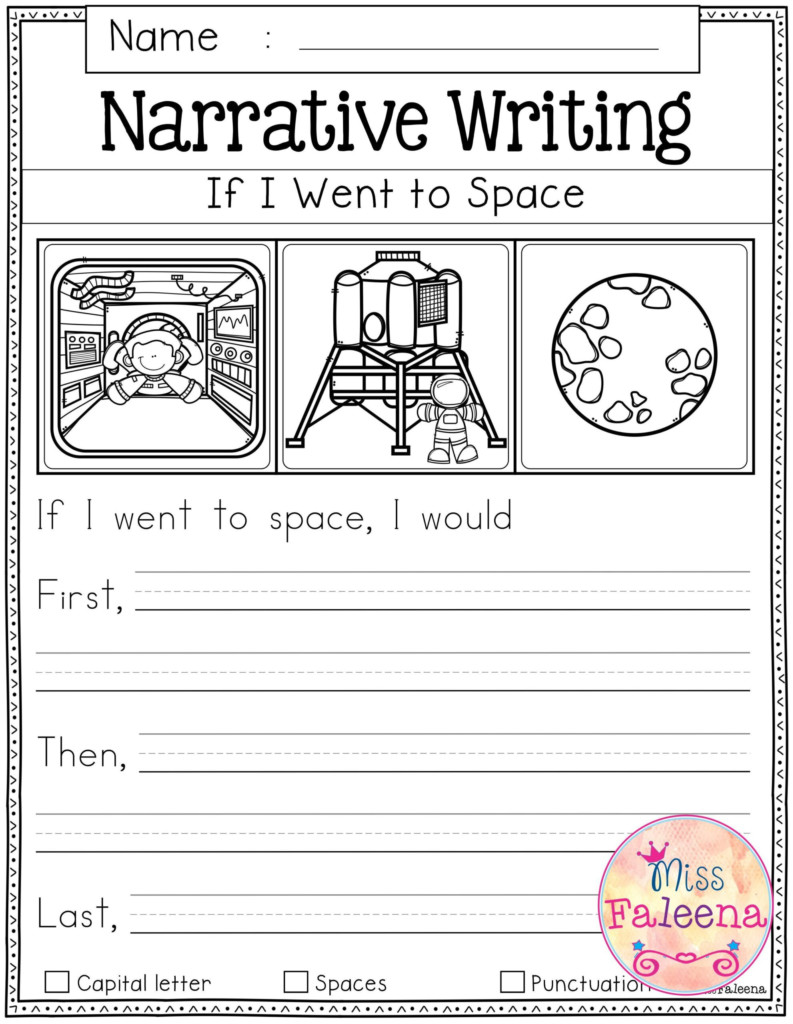 September Writing Prompts For Kids First Grade 1St