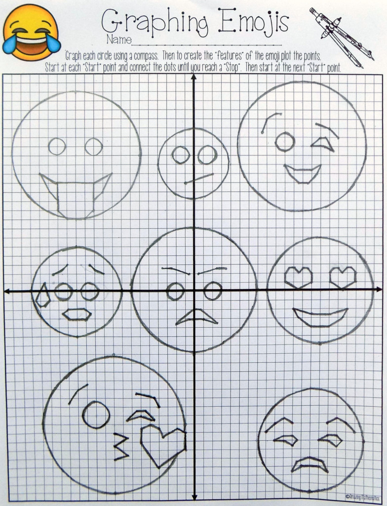 The Graphing Equations Of Circles Activity Would Be The