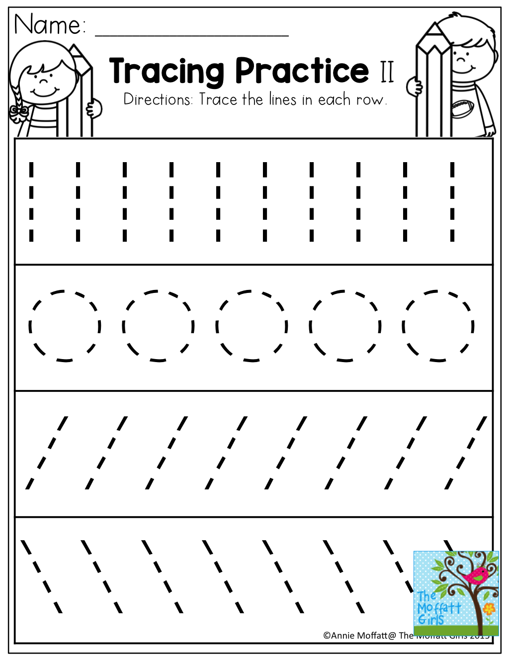 Writing Worksheets For Nursery