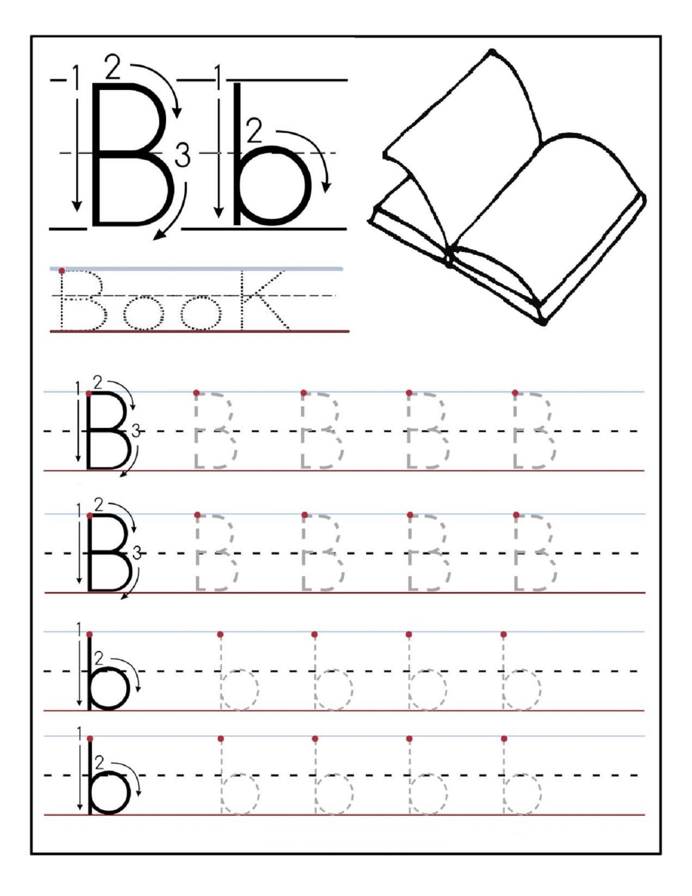 Vpk Alphabet Sheets Letter Tracing - Google Search In 2020