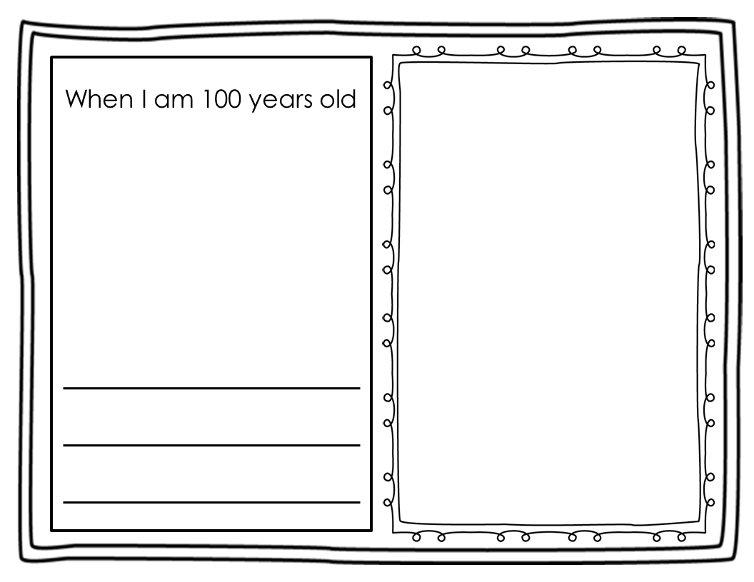 100 Days Of School Writing Worksheets