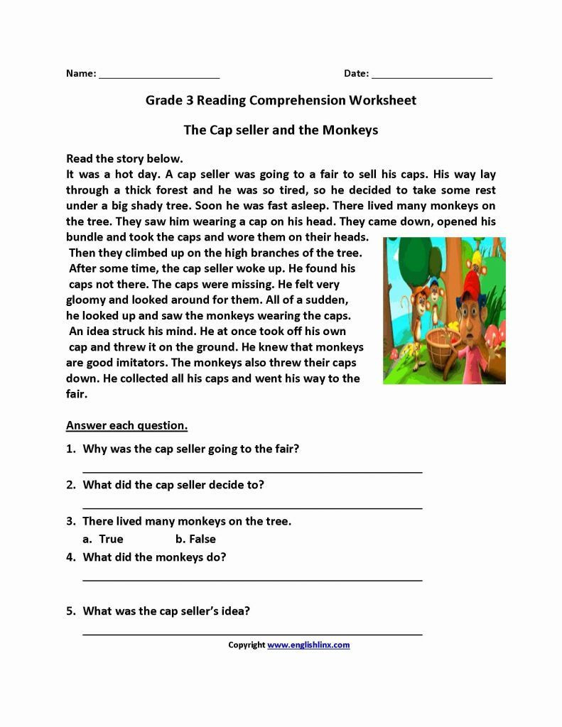 7th Grade Writing Practice Worksheets