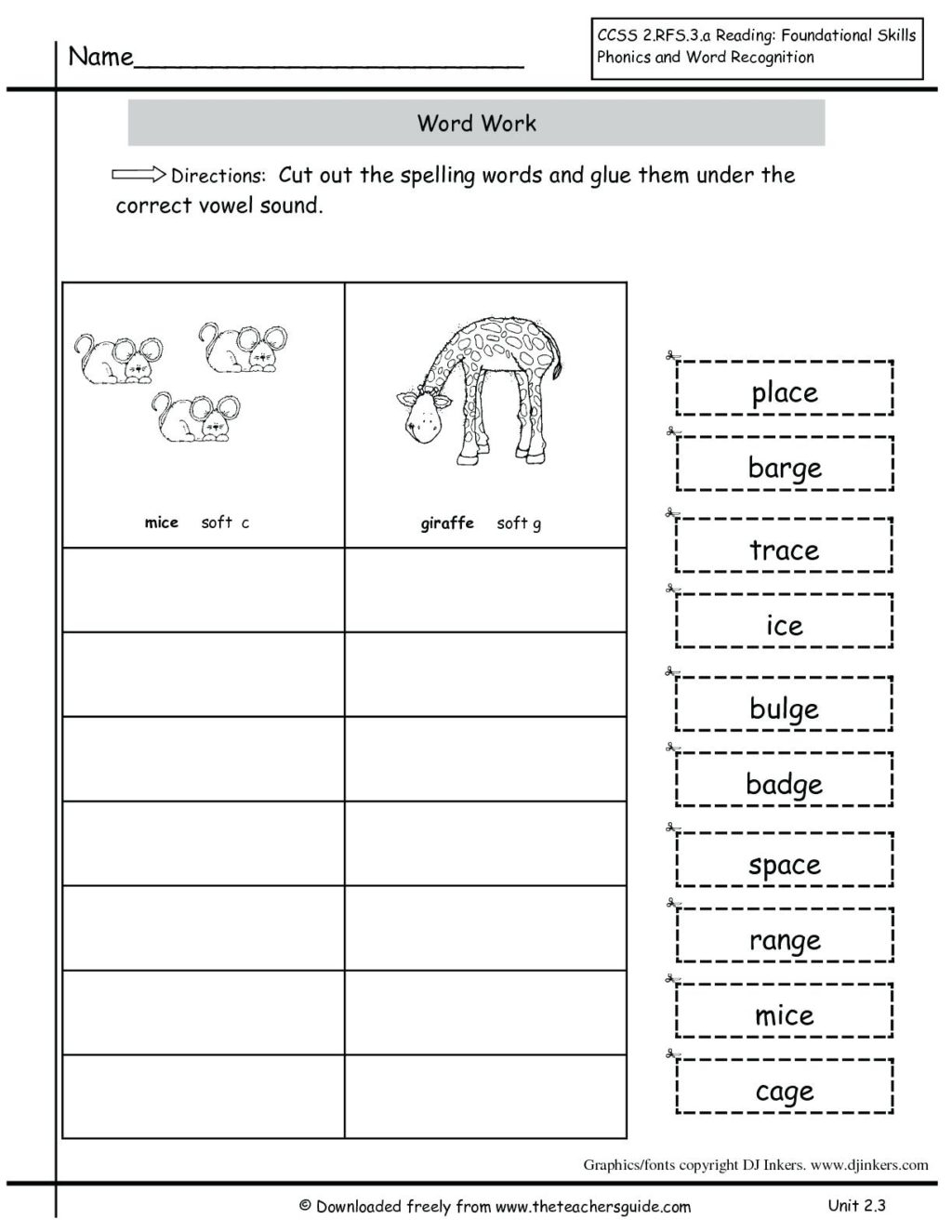 Common Core Writing Worksheets