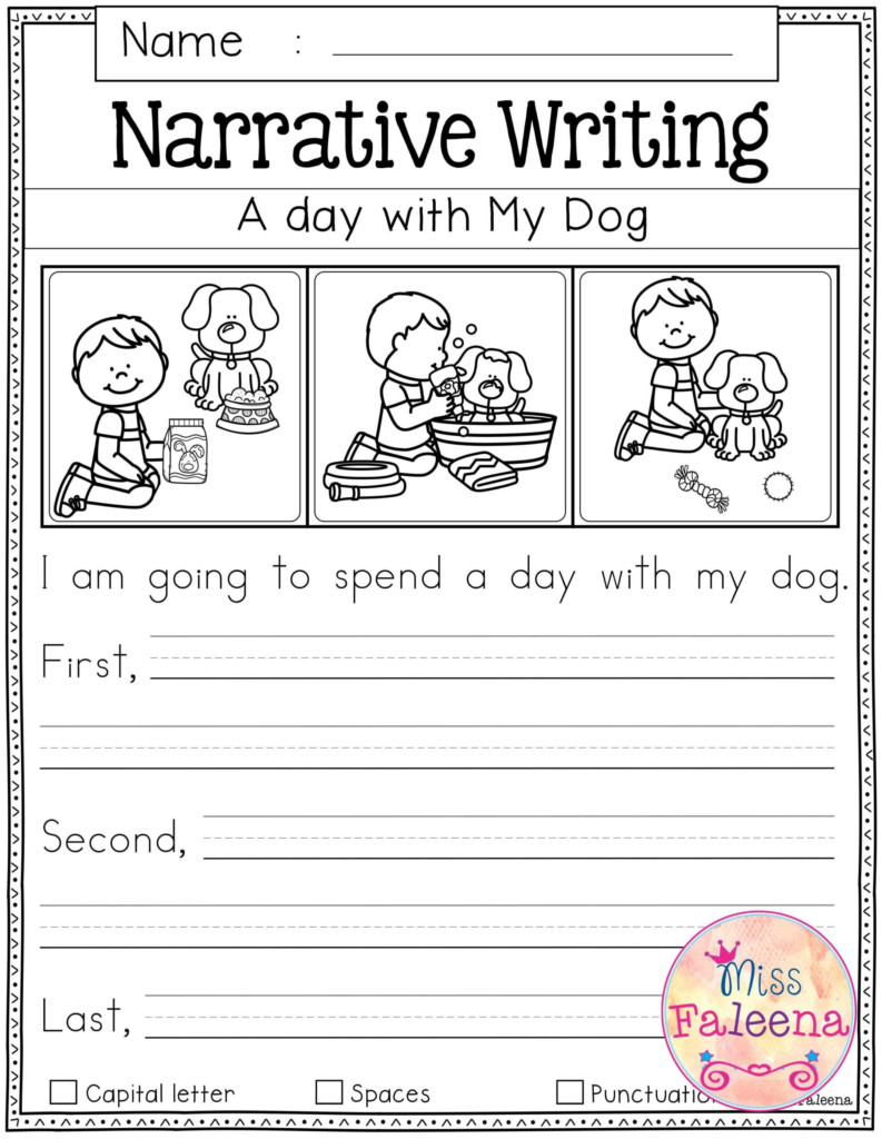 Worksheets : Free Writing Prompts First Grade For Beginners