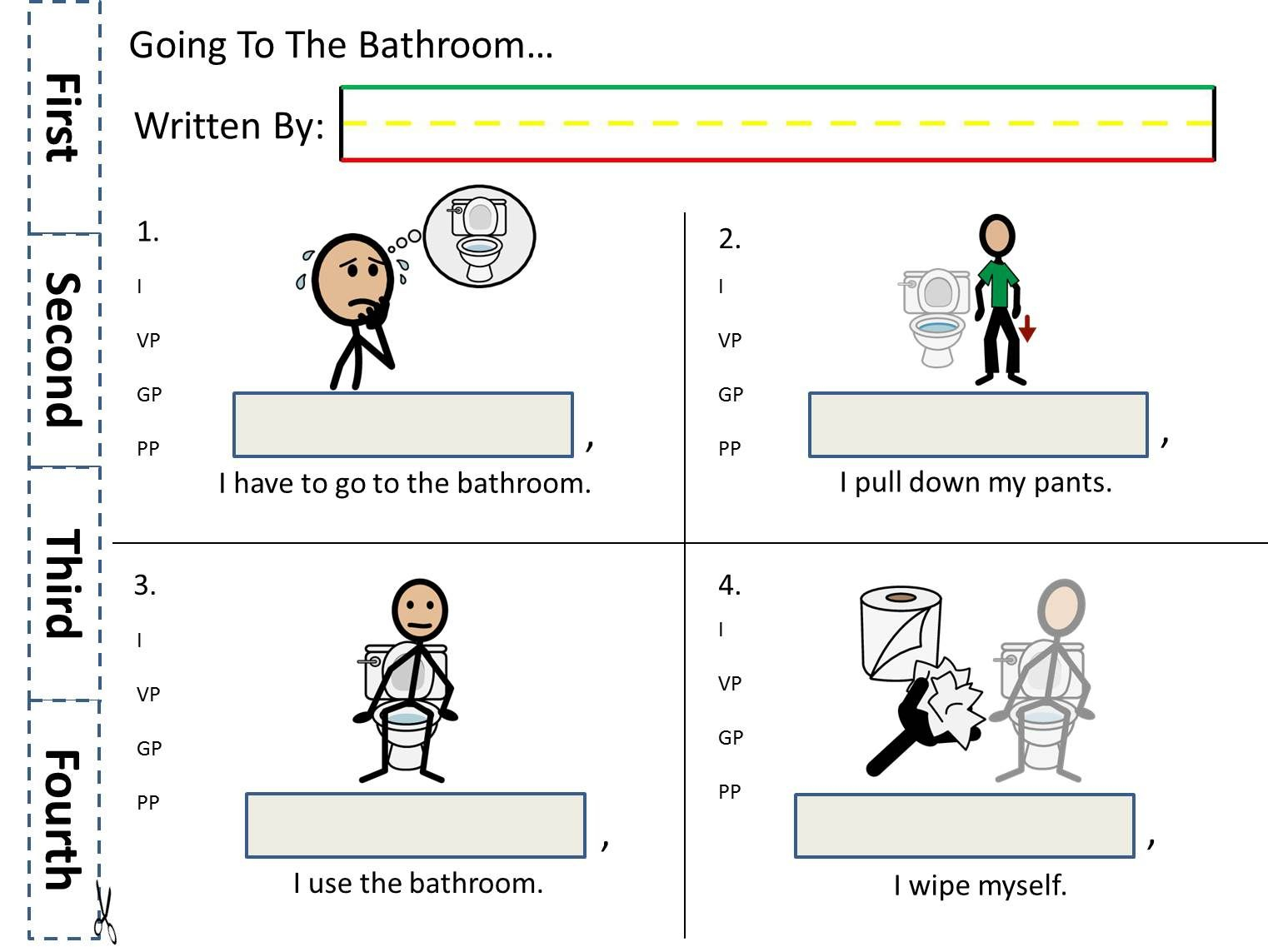 Autism Writing Worksheets