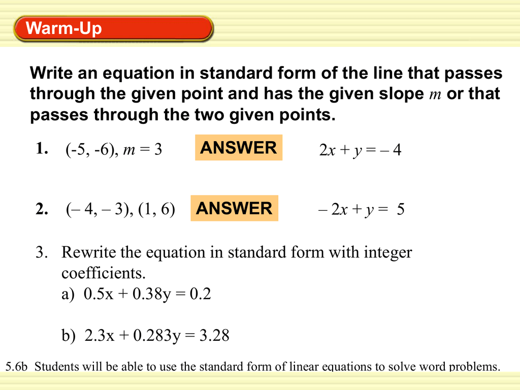 Writing Linear Equations For Word Problems - Tessshebaylo