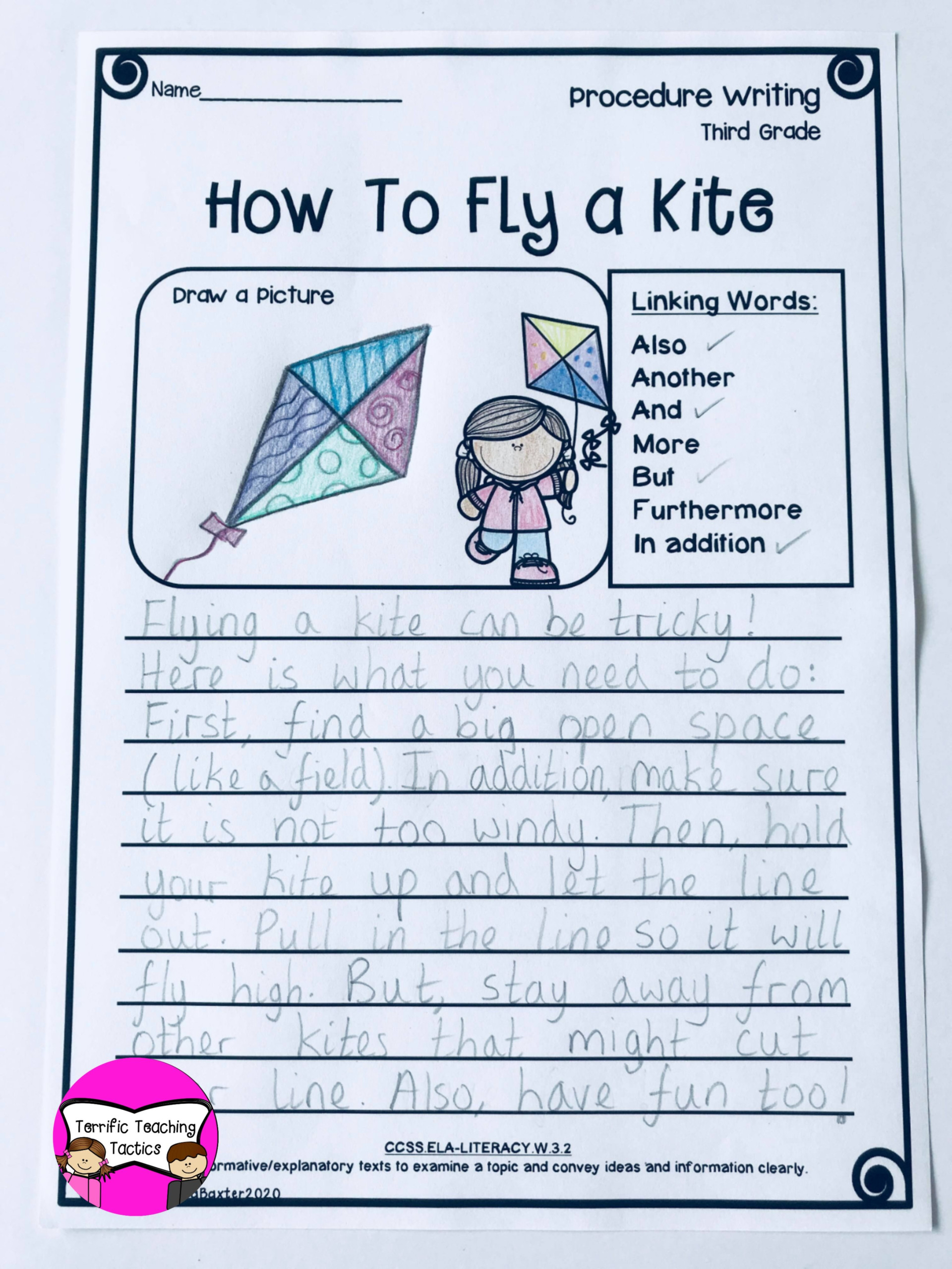 Writing Worksheets - It's Time For Freebies! - Terrific