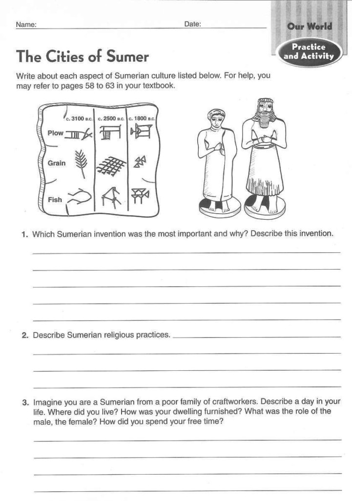 16 Ancient Egypt Worksheet For 1St Grade Archaeology Ancient