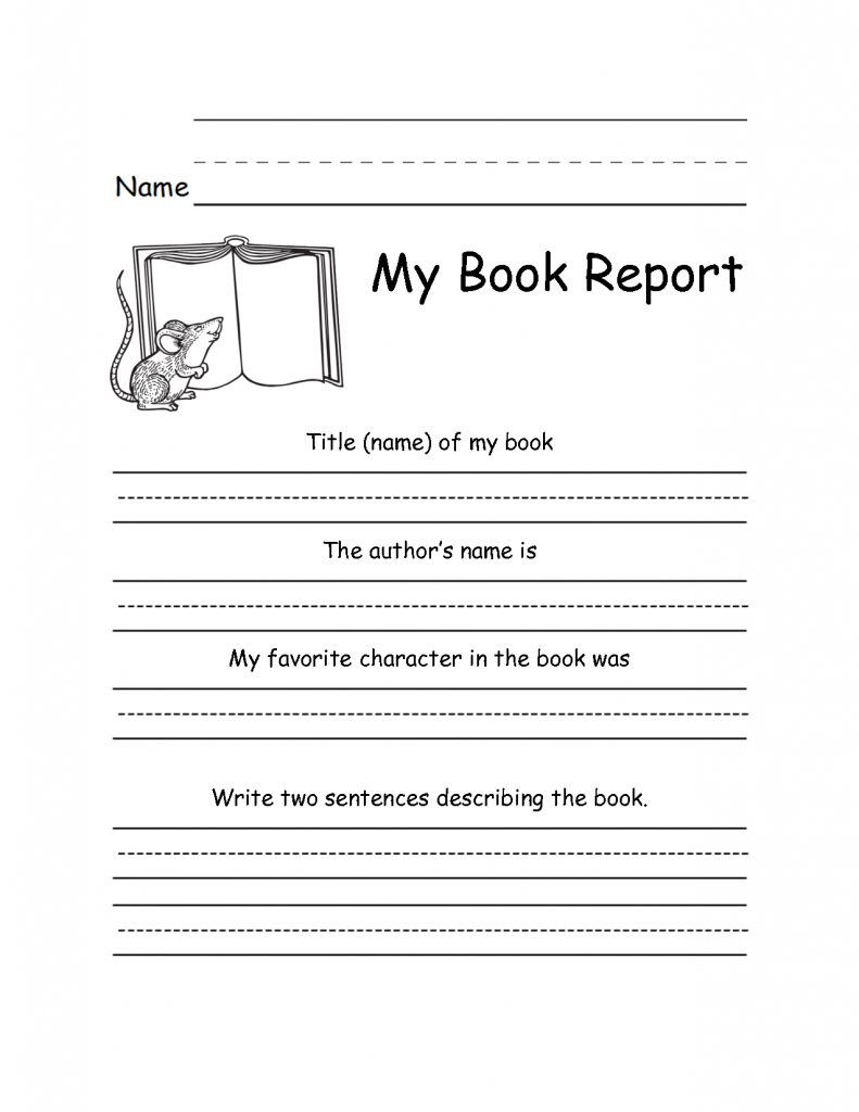 Free Printable Second Grade Writing Worksheets