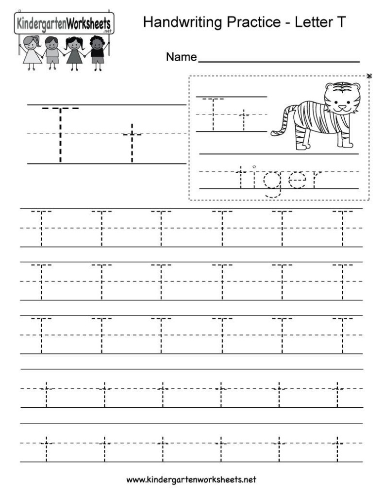 42 Letter T Worksheets In 2020 | Writing Practice Worksheets
