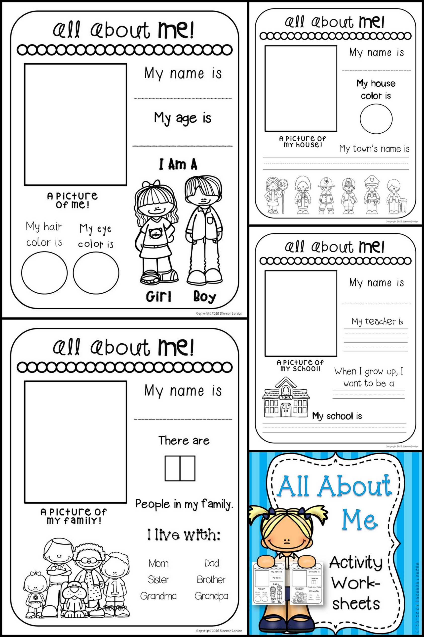 Creative Writing For Children Worksheets