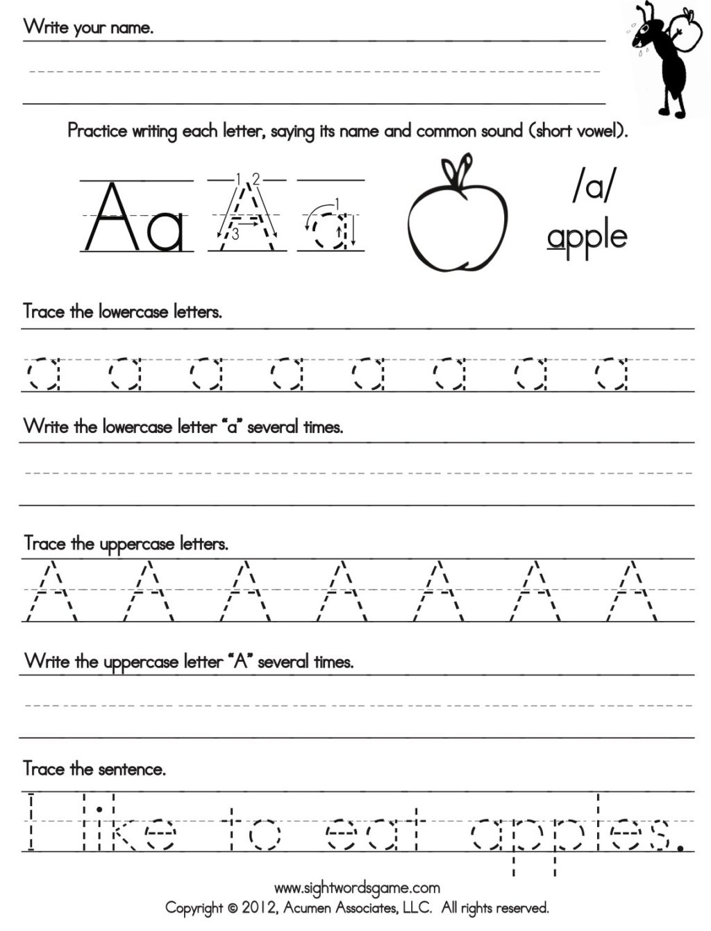 Extraordinary Practice Writing Letters Printable Worksheets