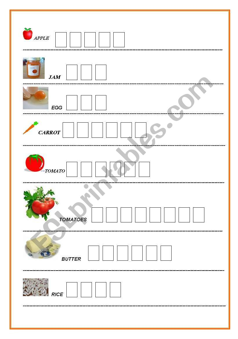 Writing Worksheets For Dyslexic Students