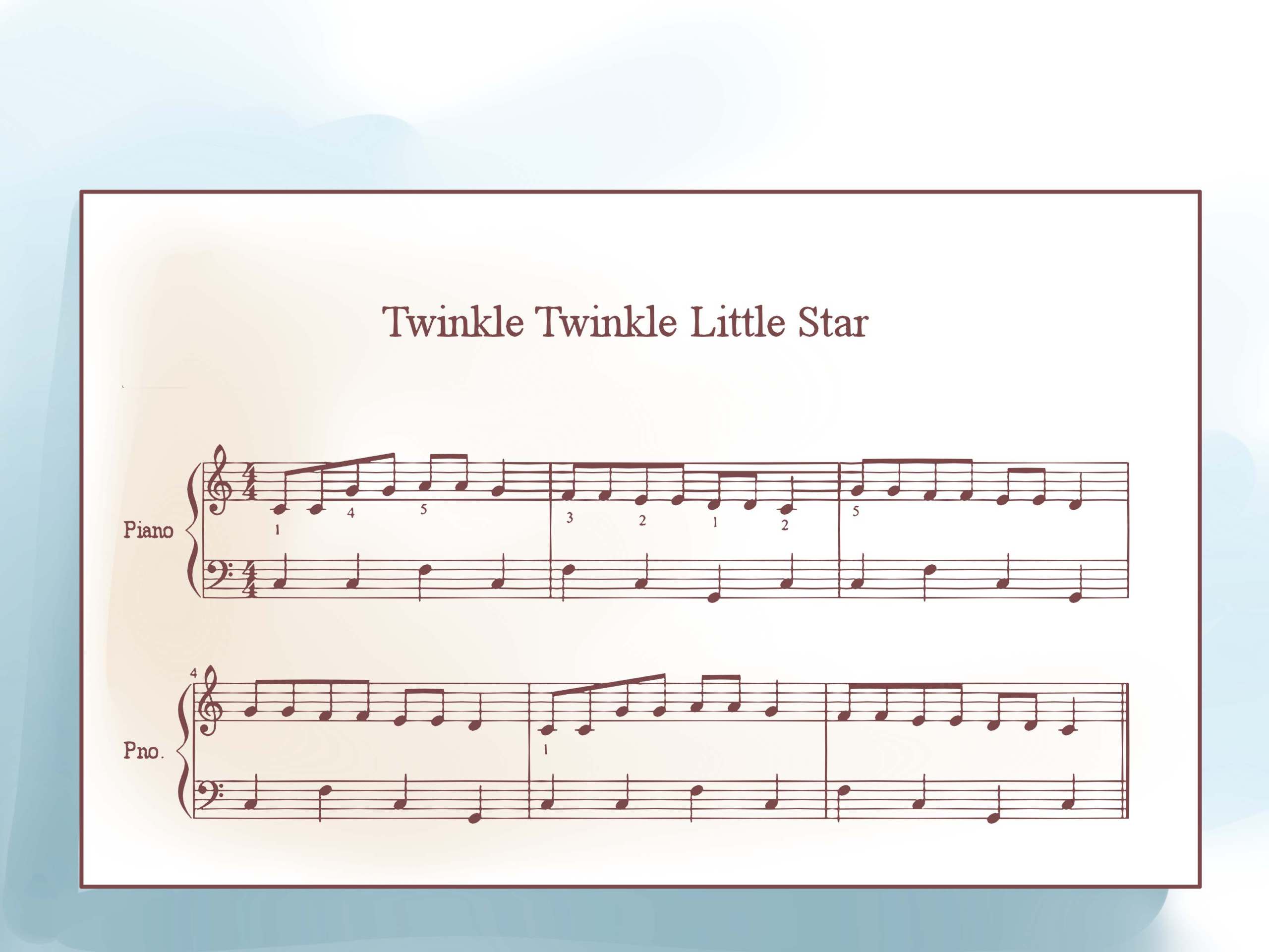 How To Write Sheet Music (With Pictures) - Wikihow