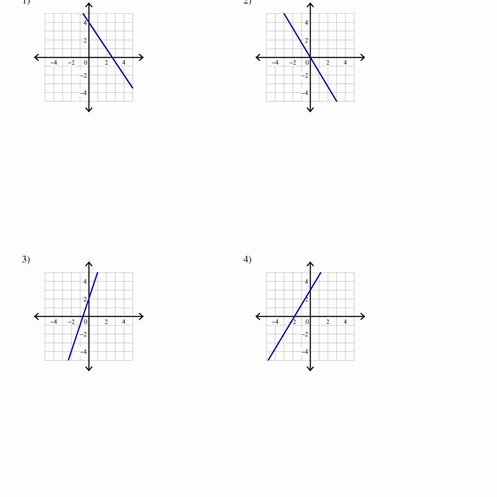 Image Result For Writing Linear Equations Worksheet Answer