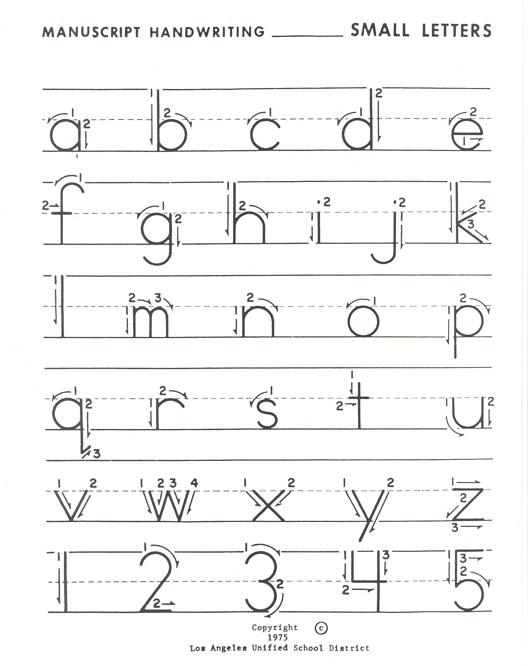 Lowercase Letter Practice | Lowercase Letters Practice