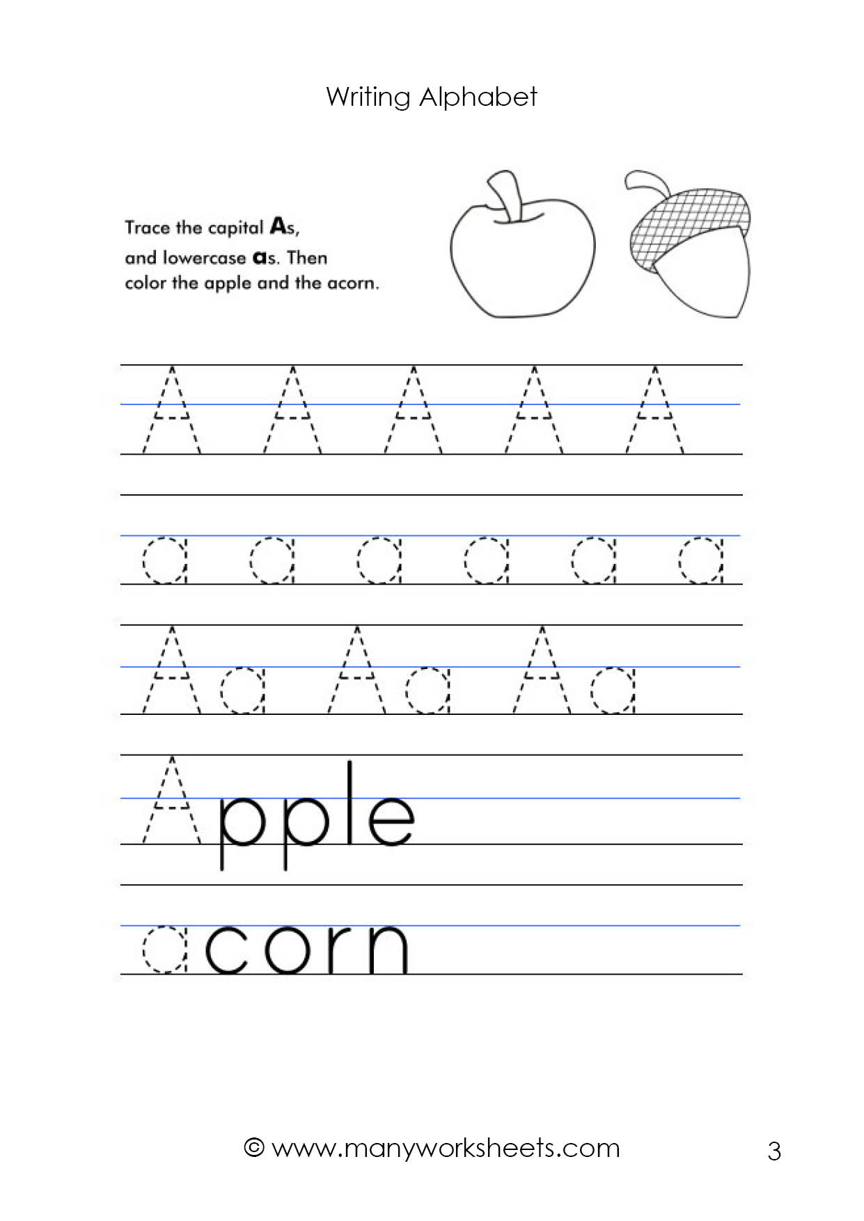 Math Worksheet : Tracing Uppercase Lowercase Letters Letter