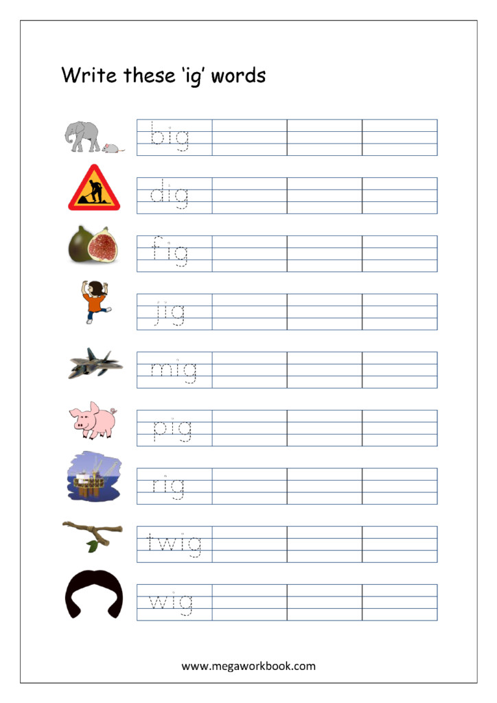 Preschool Worksheets With 3 Letter Words : Brian Molko