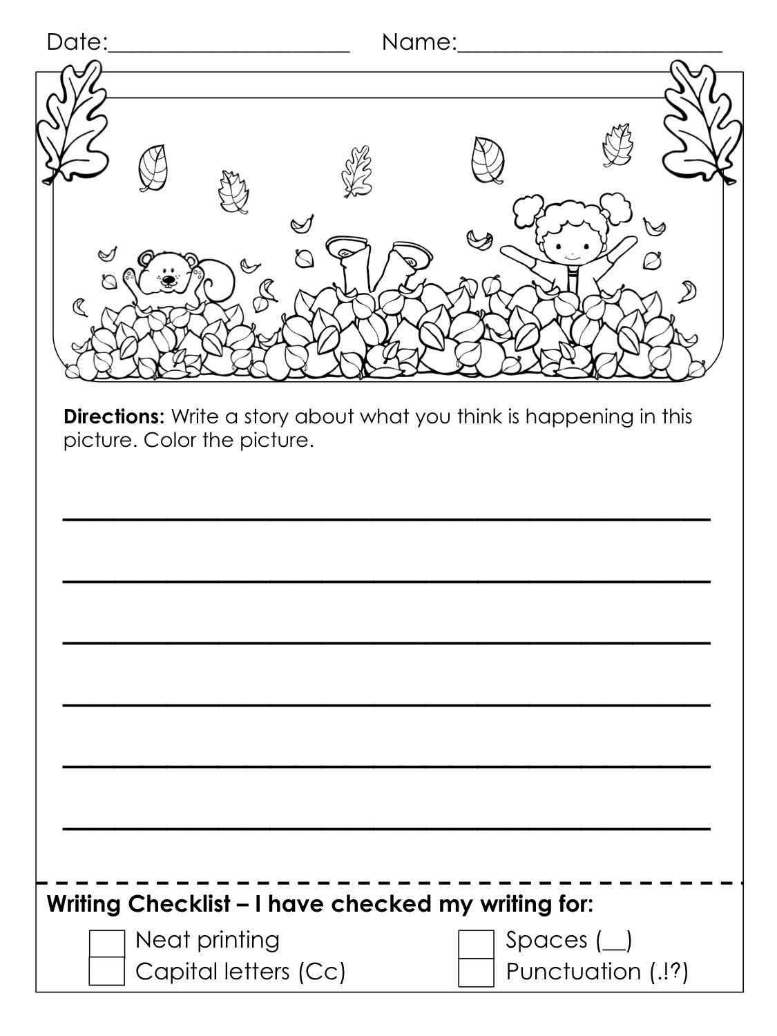 Worksheets : Grade Writing Worksheets Best Coloring Pages