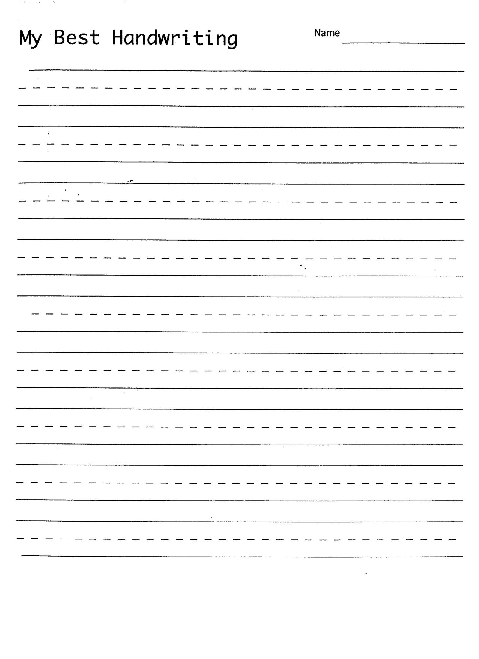 Worksheets Practice Writing Handwriting Sheets Free Letter