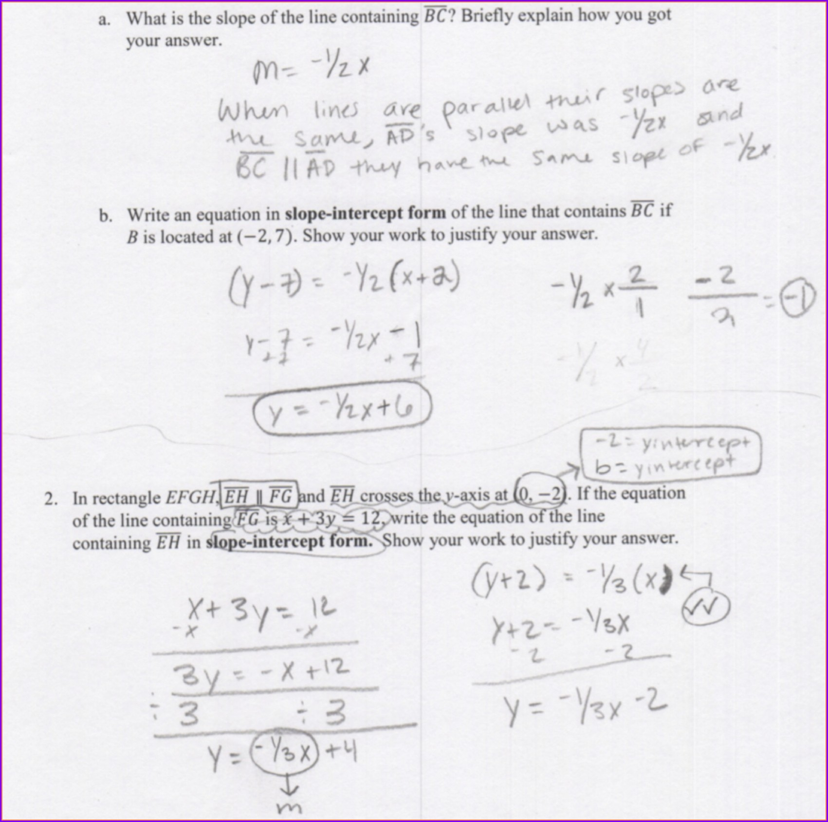 Writing Equations Of Hyperbolas Worksheet Answers
