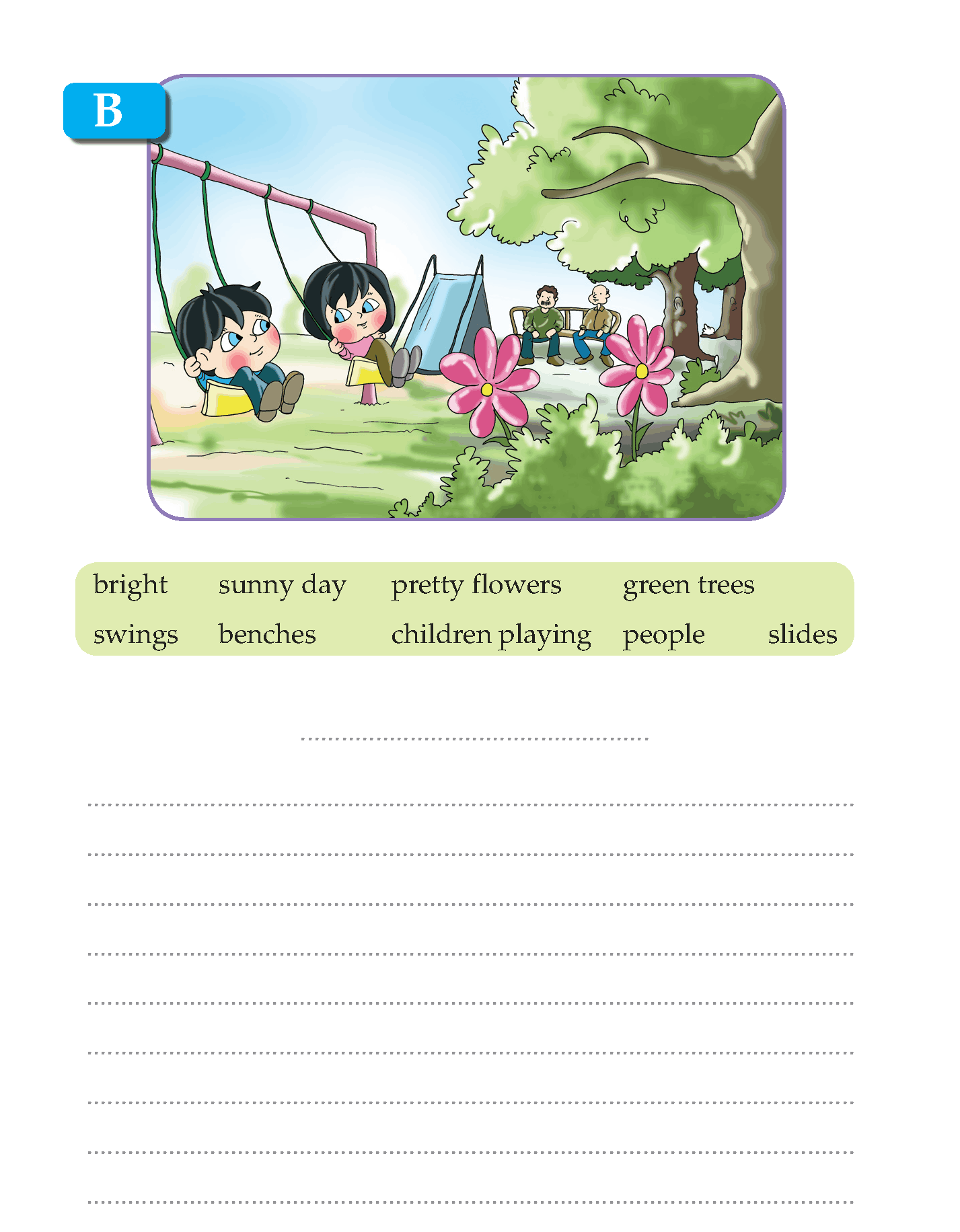 Writing Skill -Grade 3 - Picture Composition (4