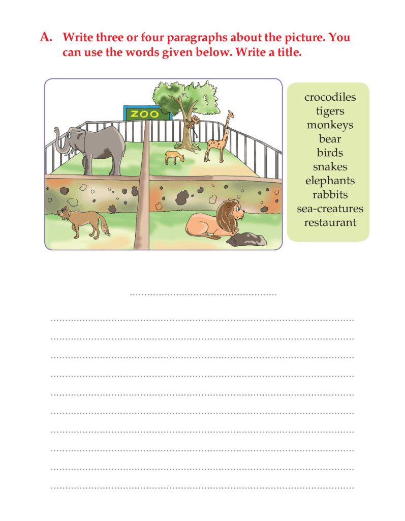 Writing Skill  Grade 3   Picture Composition (7)   English