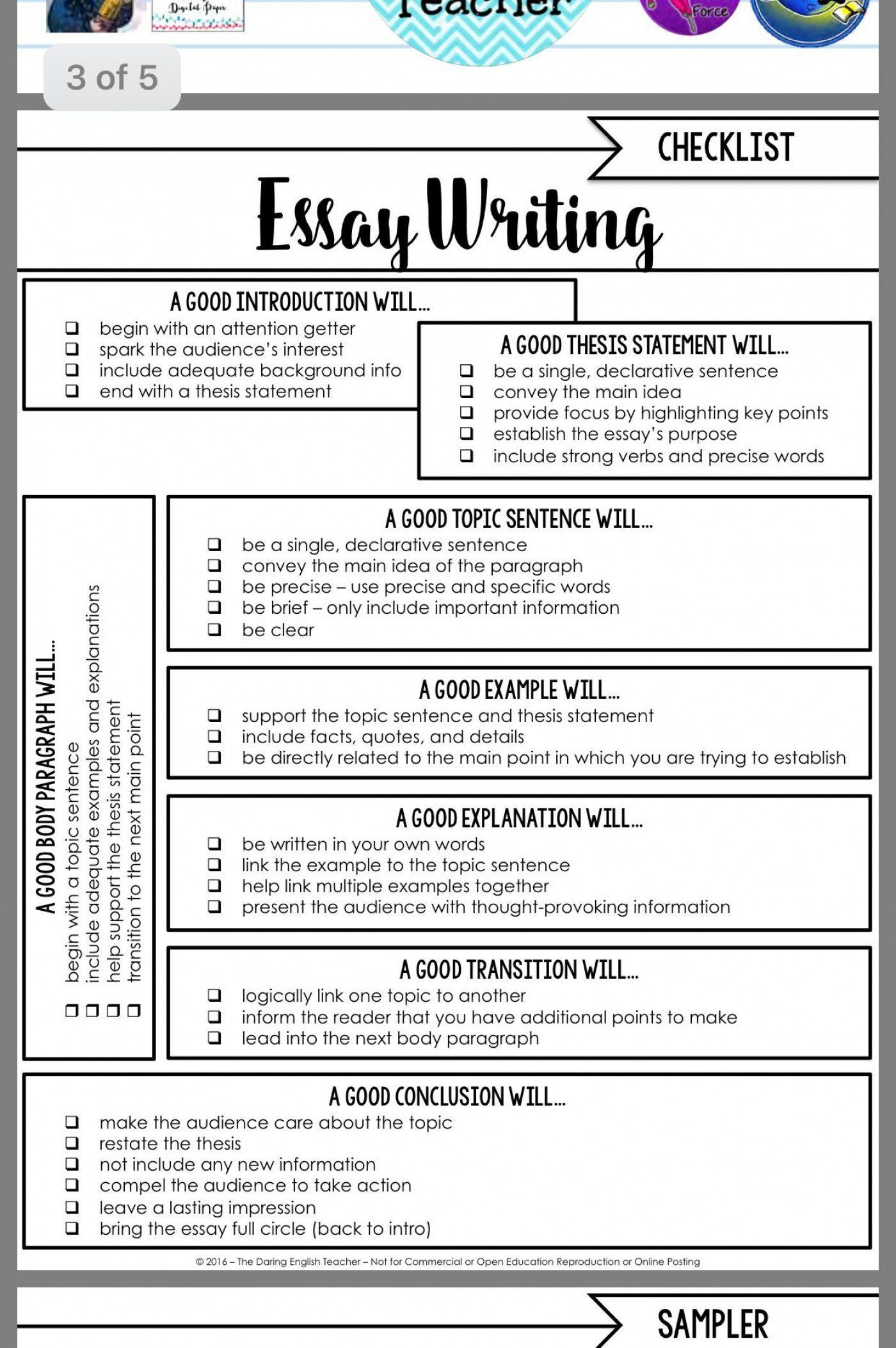 Writing Strong Leads Worksheet 003 Essay Writing Skills