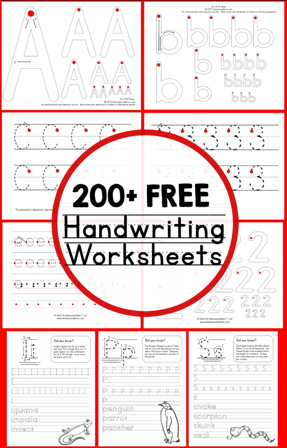 Free Handwriting Worksheets For 9 Year Olds