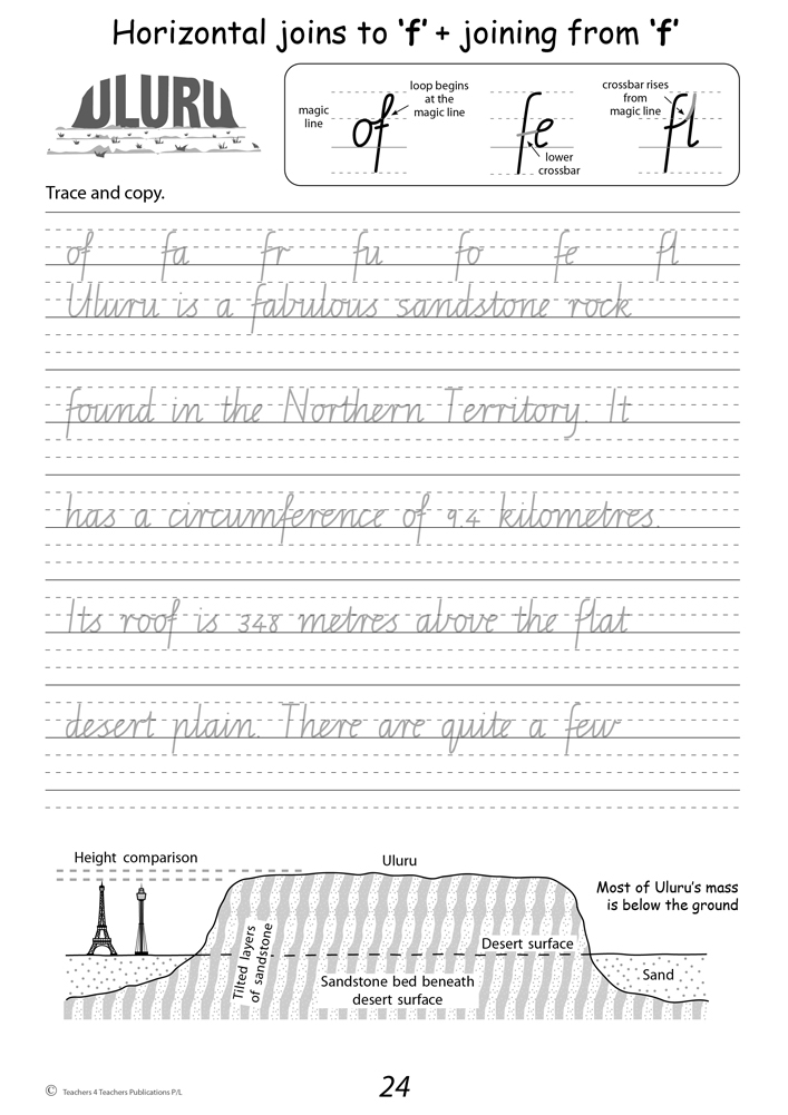 Handwriting Worksheets For 4 Year Olds