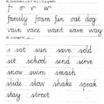 Joined Up Handwriting Practice Printables Bon Coin